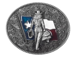 Texas Cowgirl Buckle