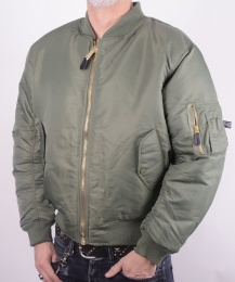 US Flight Jacket Green