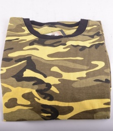 US Tee Camo Yellow