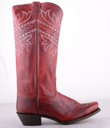 VF3044 Red High Boot