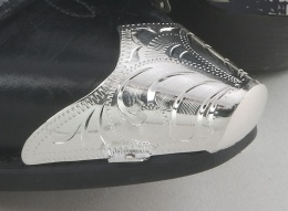 Silver Toe Tips Silver Plated