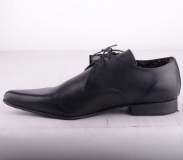 Winklepicker Black Leather