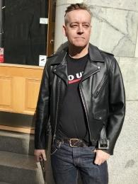 Prefecto Classic Leather Jacket