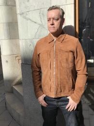 Edwin Suede Jacket
