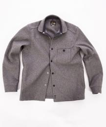Wool Shirt Grey