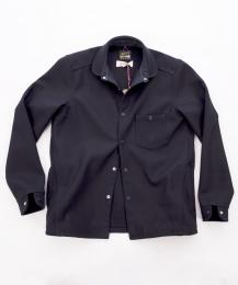 Wool Shirt Navy