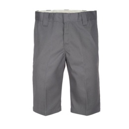 "Slim 13"" Short Charcoal Grey"