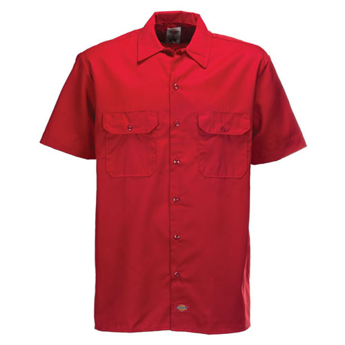 S/S Work Shirt English Red 1574