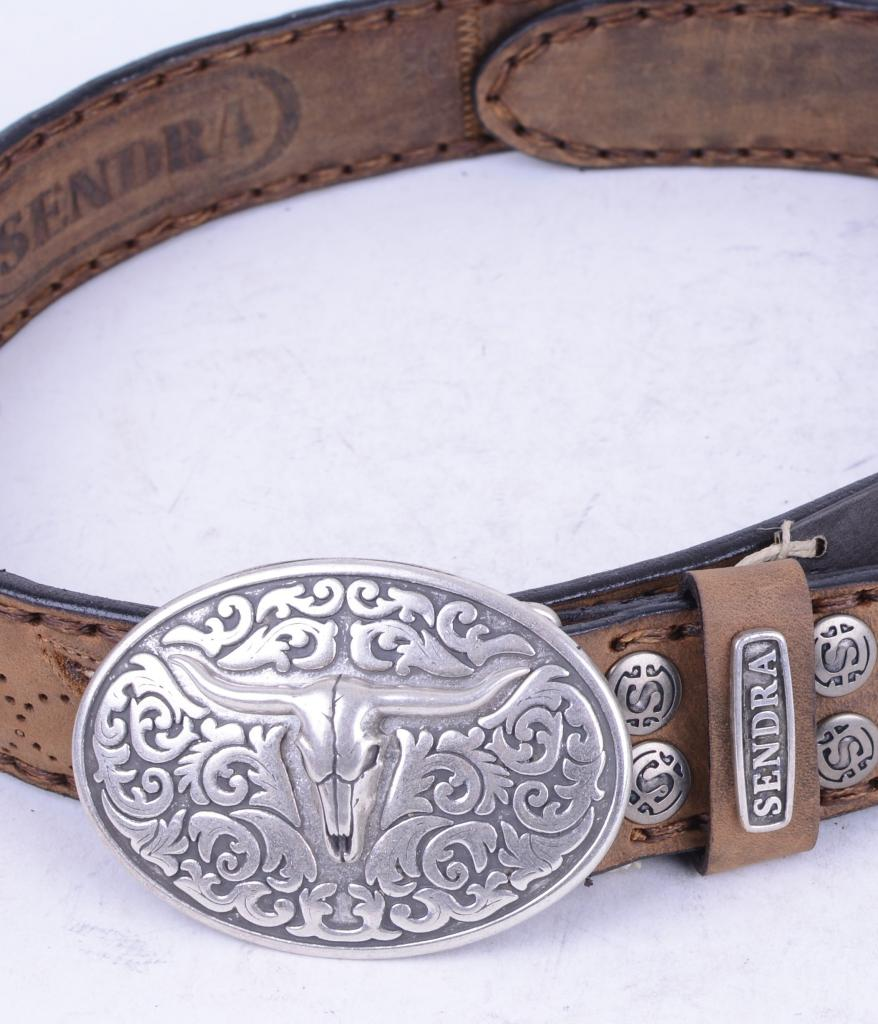 8322 Brown Python Belt
