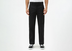 873 Slim Work Pant Black
