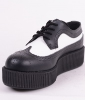 AV8501 Hi Sole Creeper blk/wht