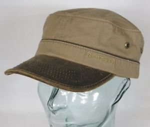 Army Cap Cotton Beige