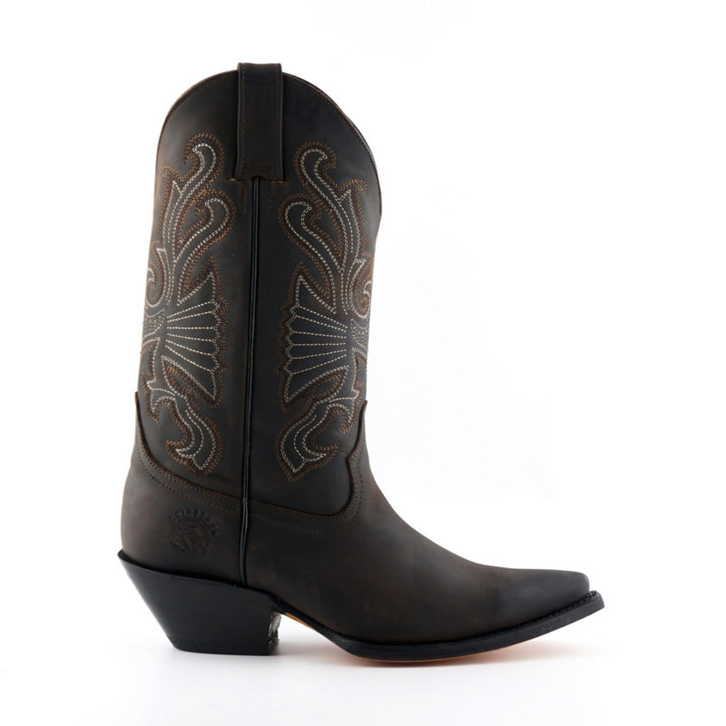 Buffalo Mexican Boots Brown