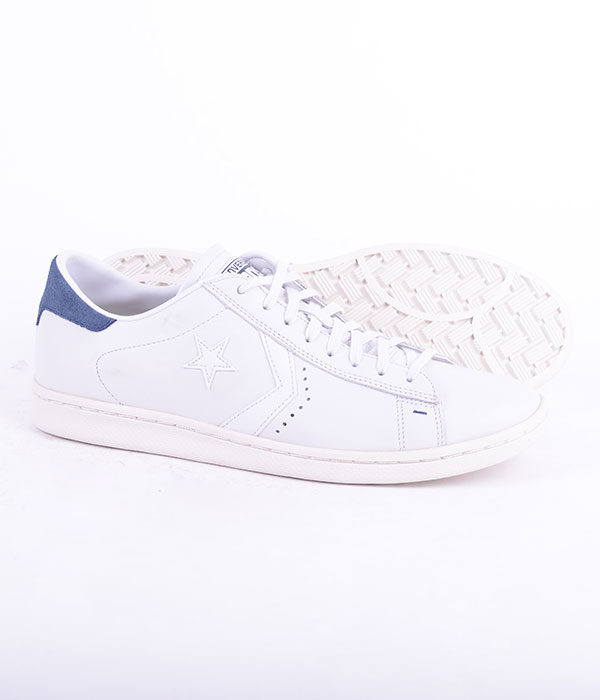 Cons 147789C White/Blå Leather