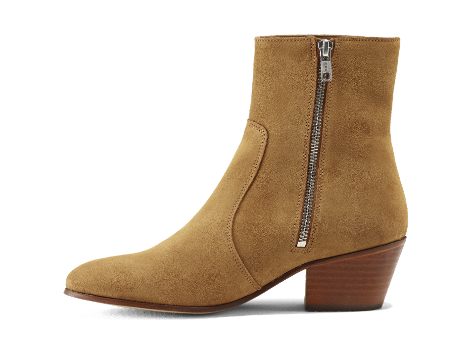 Gracie Zip Boots Tabacco