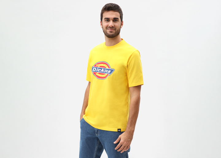 Horseshoe Tee Yellow