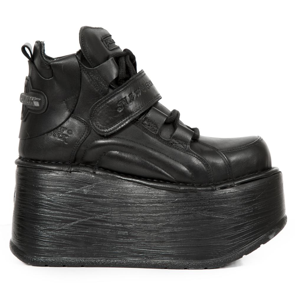 Platform Black Negro High