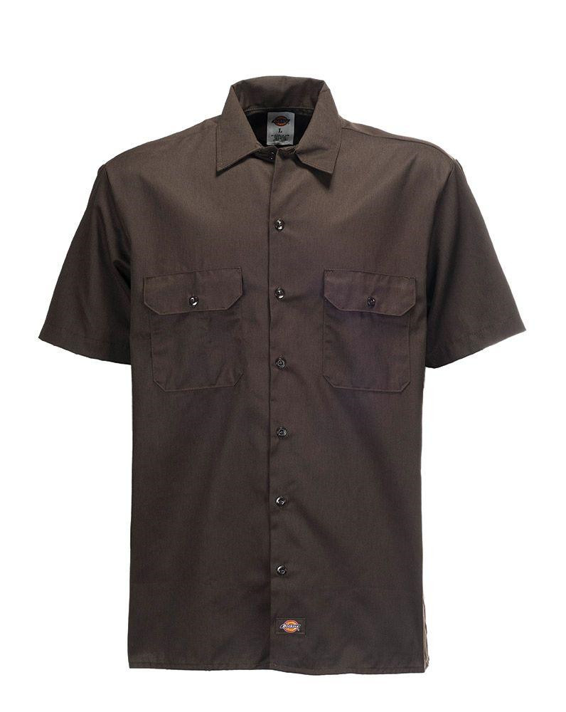 S/S Workshirt Dark Brown 1574