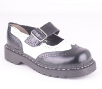 T1035 Anarchic Brogue B/W