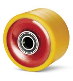 X-kraftiga polyuretanhjul