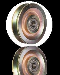 V-hjul Ø100X24 mm