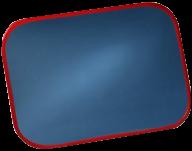 Kraftig övervakningsspegel 600X400 mm