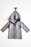 Ebbe Knitted Cardigan Grey - By Heritage