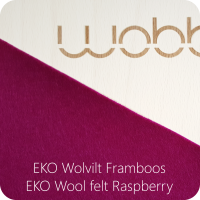 Wobbel Original Board - Felt Rasberry - Wobbel