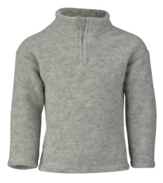 Ull Fleece Zip Sweater - Engel