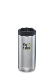 Termosmugg TKWide 355ml - Brushes Stainless - Klean Kanteen
