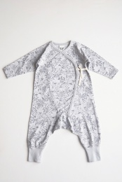 Love Playsuit - Grey - By Heritage