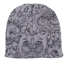 Beanie - Owl Drizzle - Soft Gallery
