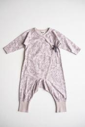 Love Wrap Playsuit - Plum - By Heritage