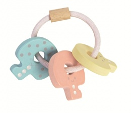 Baby Key Rattle - Pastell - Plantoys