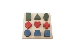 Shape Puzzle - Wooden Story
