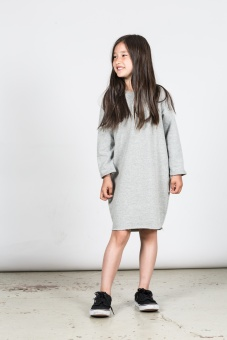 Anita Dress - Grey Melange - I Dig Denim