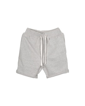 Bastian Shorts - Grey Melange - I Dig Denim