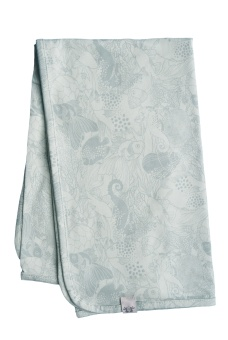 Bianca Blanket - Mint - By Heritage
