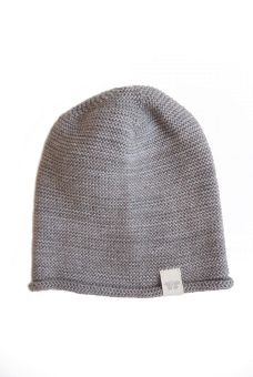 Birger Knitted beanie - Grey - By Heritage