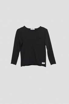 Bono Long Sleeve - Black - I dig denim