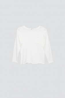 Bono Long Sleeve - Off White - I dig denim
