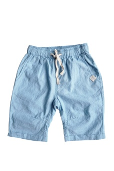 Eddie Shorts - chambray blue - By heritage