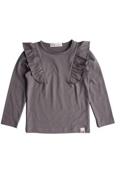 Elin Top - Dark Warm Grey - By Heritage