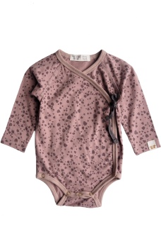 Elna Wrap Body - Dark Old Pink - By Heritage