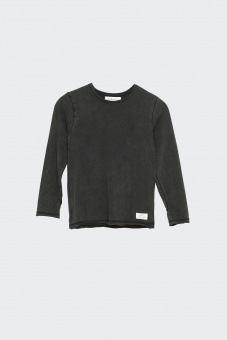 Hannes Long Sleeve - Black Washed - I Dig Denim