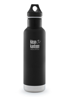 Termos Flaska 592 ml - Classic Insulated - Shale Black - Klean Kanteen
