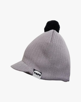 Knit Tassel Cap - Grey - Papu