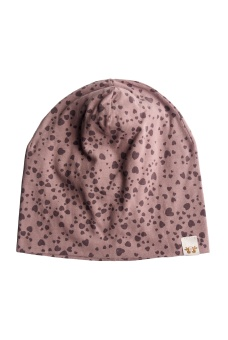 Kerstin beanie - Dark Old Pink - By Heritage