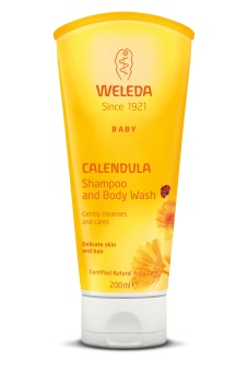SHAMPOO & BODY WASH -  Weleda CALENDULA  - 200 ml