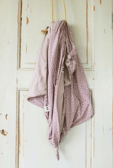 By Heritage - Lilly Jersey Blanket Pink